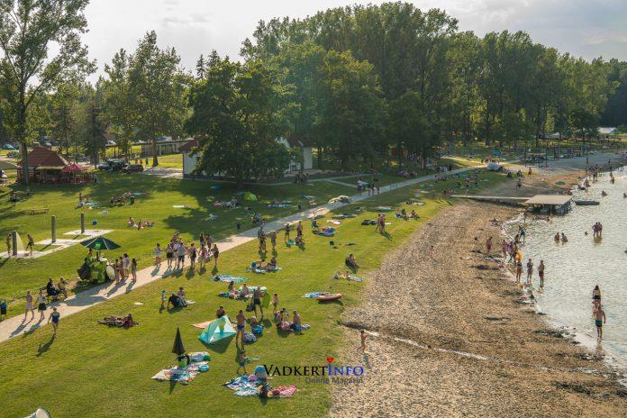 Vadkerti-tó strand 2020. Június